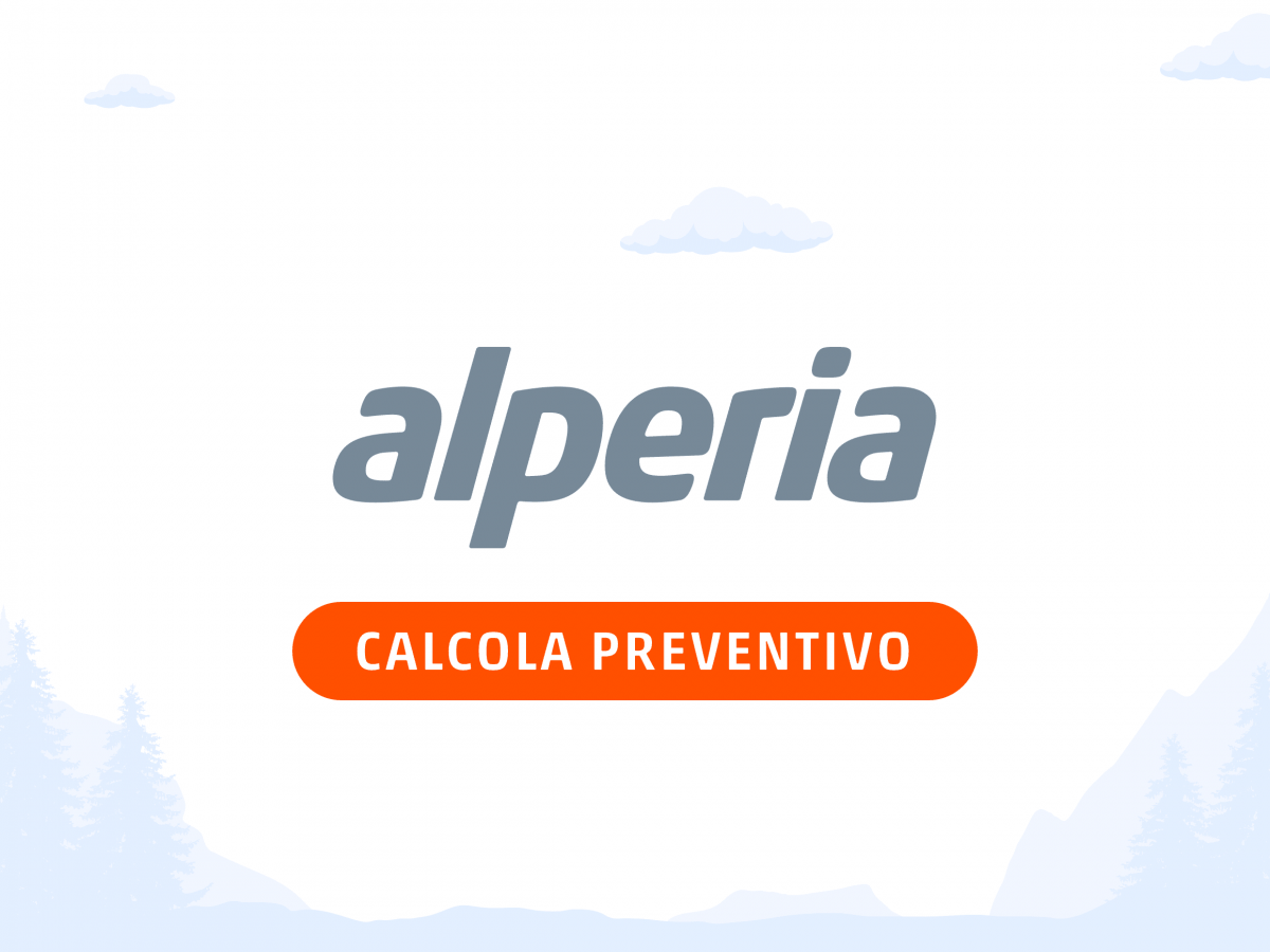 Alperia Luce e Gas - Calcola Preventivo